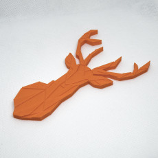 Picture of print of Reindeer