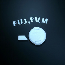 Picture of print of Replacement Multi Colour 39mm Lens Cap for FujiFilm XF 27mm f/2.8 Lens