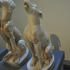 Statuette of a howling dog image