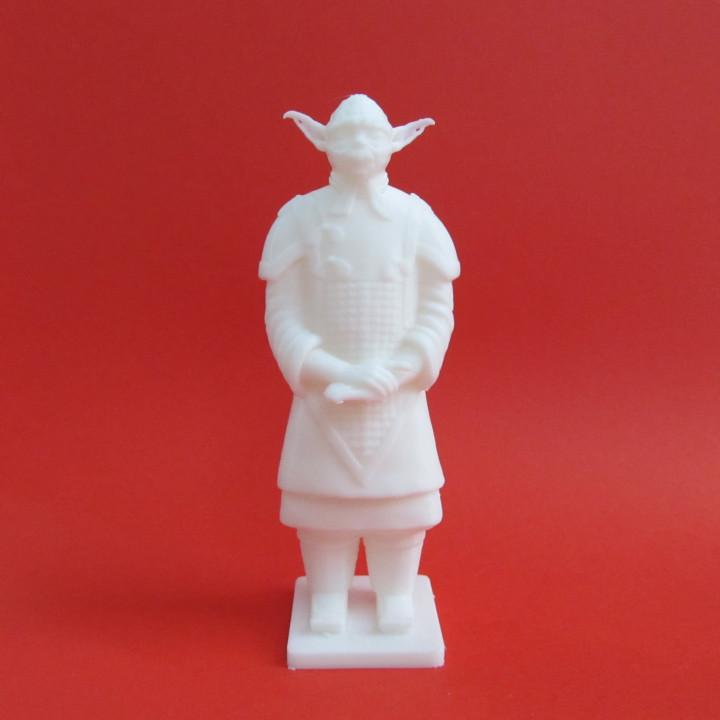 Terracotta Yoda