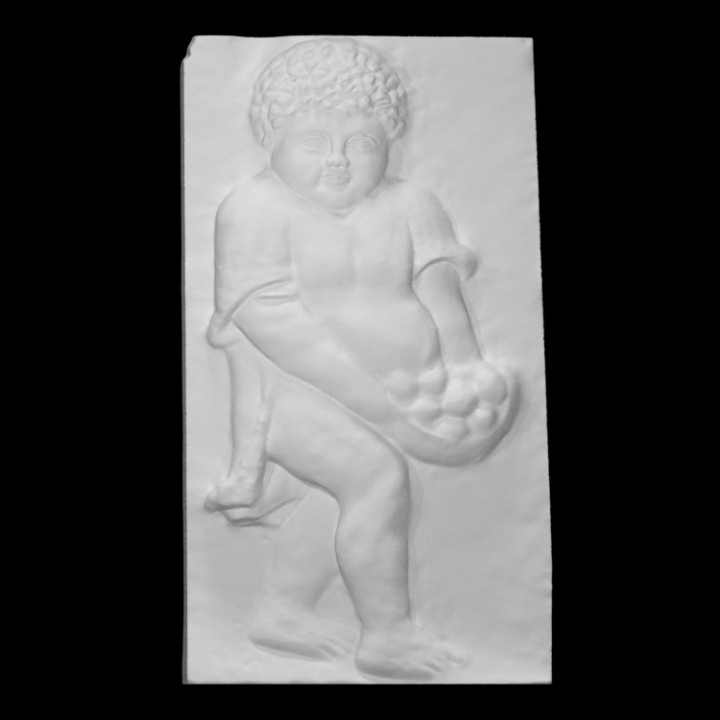 Relief with a child