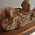 Etruscan cinerary urn image