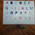 Alphabet toy shape image