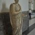 Statue of Marcus Nonius Balbus wearing a toga image