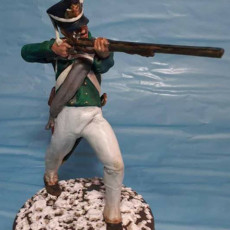 Picture of print of Pack of 5 Napoleonic soldiers.