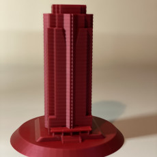 "Picture of print of Nakatomi Plaza - From ""Die Hard"""