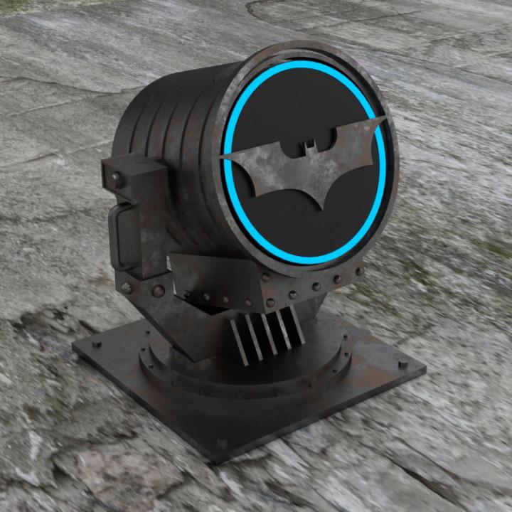 echo dot - Bat Signal