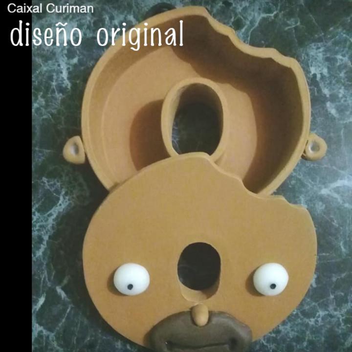 Homer Simpson donut head