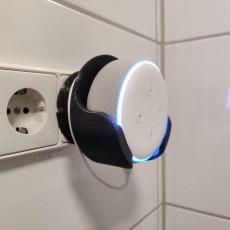 Picture of print of Amazon Echo Dot Gen 3 socket mount