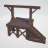 HO Scale Gallows image