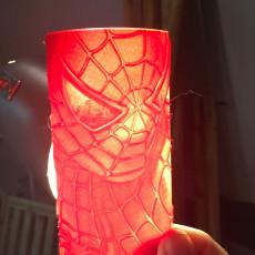 Spiderman Lithophane