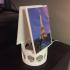 Google home mini spinable photo holder. image