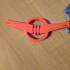 Rezvani Logo Keychain image