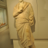 "Statue of a draped male, called the ""Pinali orator"" image"