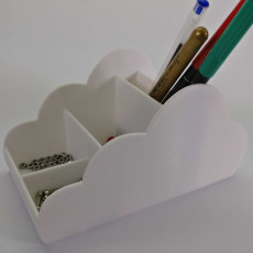 Cloud desk organizer