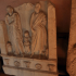 Part of a funerary stele image