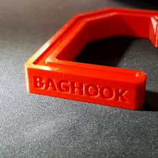 Picture of print of handbag table hook