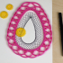 The egg shaped drawing toy image