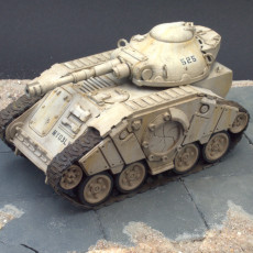 Picture of print of MAV3RICK - Modular Sci-Fi Tank Kit in 28mm Scale