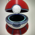 PokeMon Poke Ball Echo Dot Case (2nd Gen) image