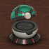 PokeMon Net Ball Echo Dot Case (2nd Gen) image