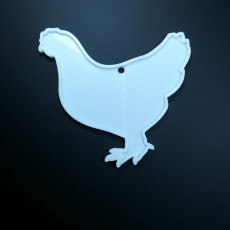 Picture of print of The Chicken Ornament