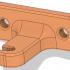 Creality Ender-4 Teflon Tube Holder and Strain Reliever image