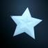 Star + Star print image