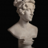 Bust of Augusta Wilhelmine Luise Princess of Hesse-Kassel, Duchess of Cambridge image