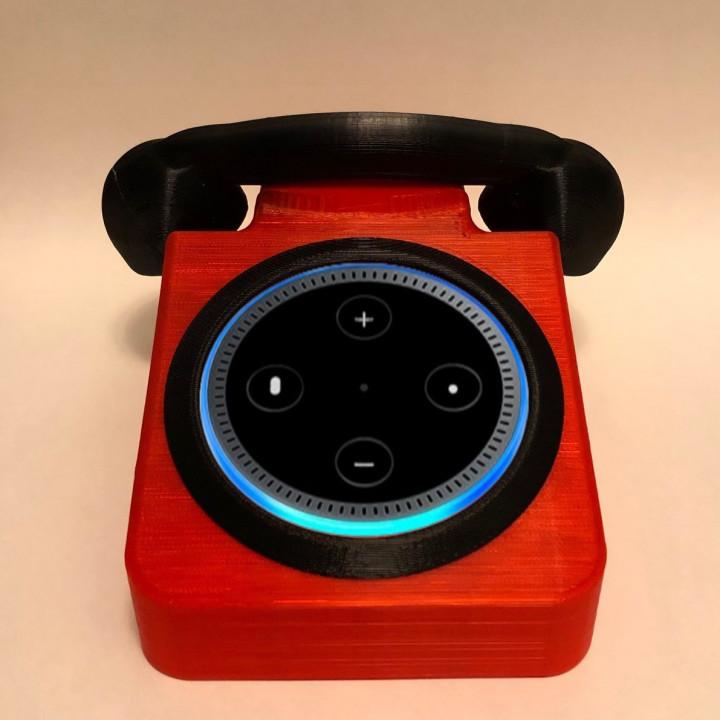 80's Style Echo Phone