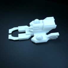 Picture of print of Starship Z-Canser