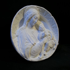 Picture of print of The Virgin and Child