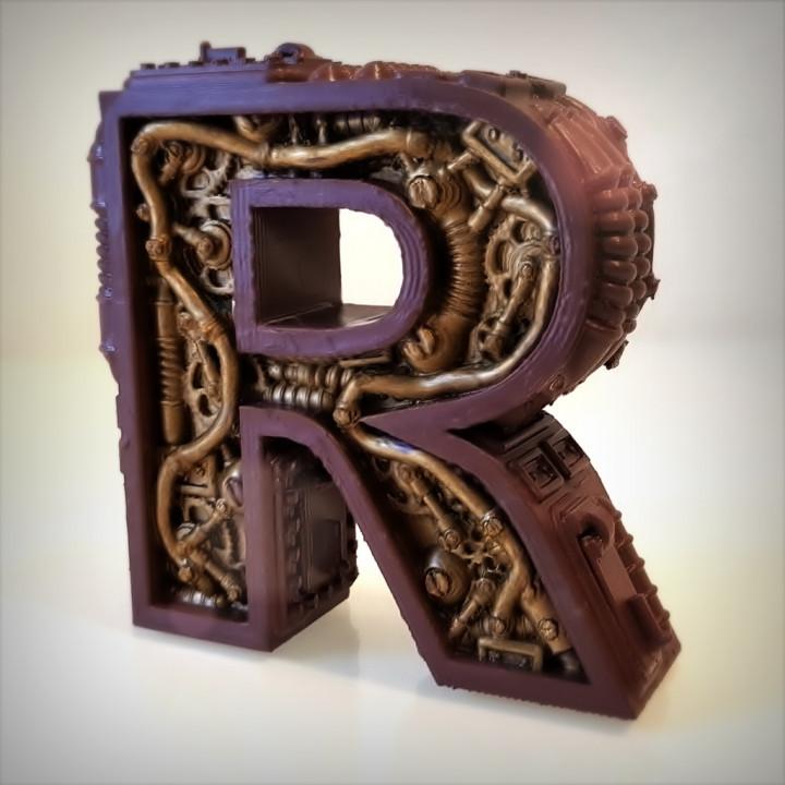 Steampunk Alphabet.