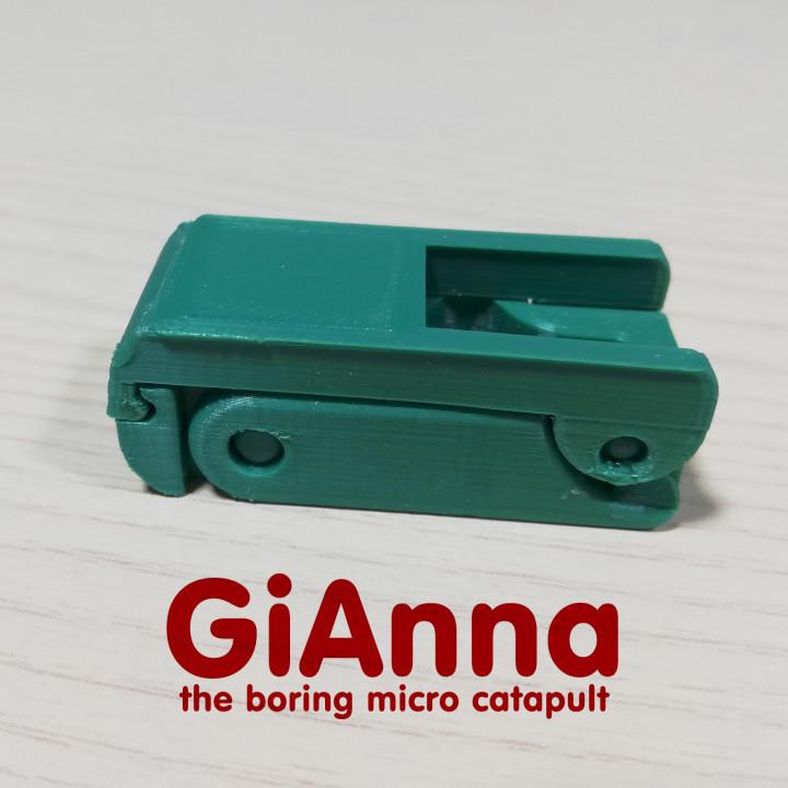 GiAnna - the boring micro catapult