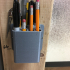 12 pen pencil sharpie holder image