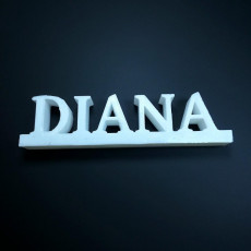 Picture of print of diana