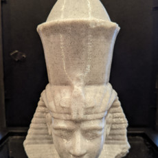 Picture of print of Head of a pharaoh