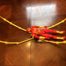 Picture of print of SPIDER HEAD For ZIPGUY 1.0 zip tie Action Figure