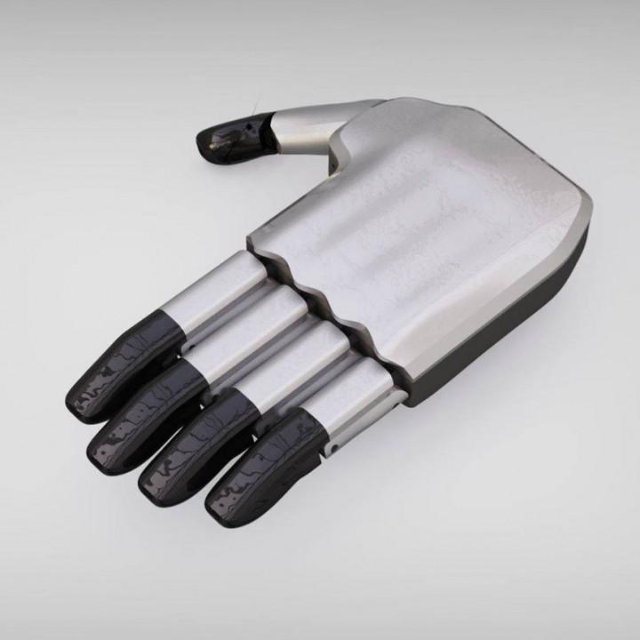 Myoelectric prosthetic hand device