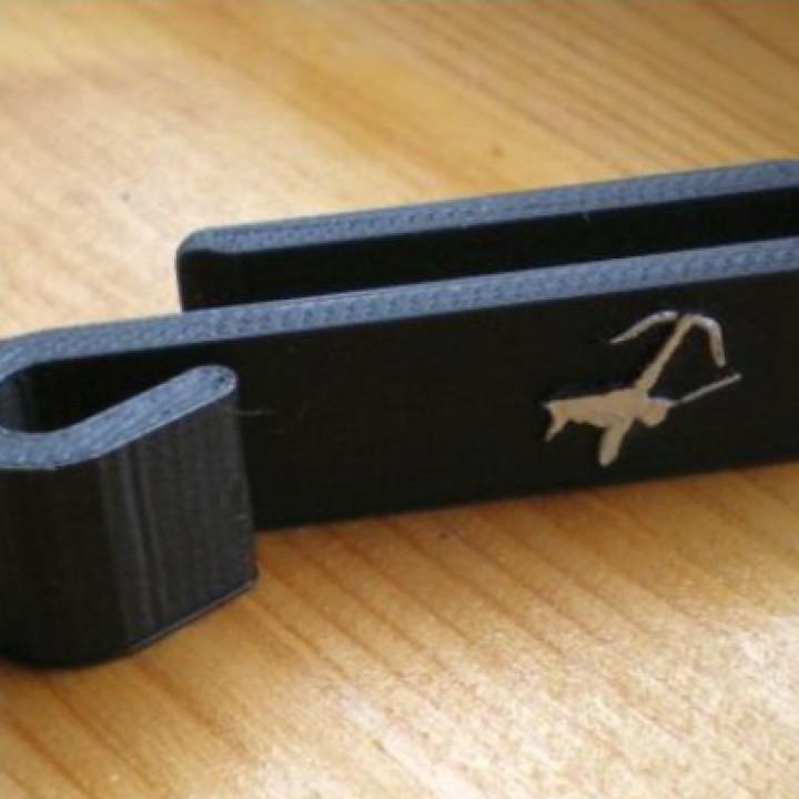 Belt clip for Quiver / Clip für Köcker
