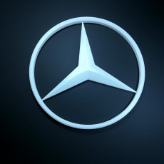 Picture of print of mercedes logo