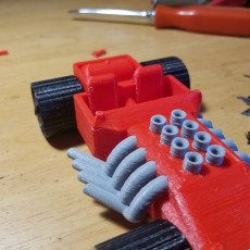 Picture of print of Hot Wheels!