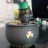 Leprechaun and Pot of Gold print image