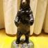 Standing Black Bear print image