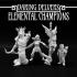 Daring Delvers: Elemental Champions image