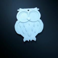 Picture of print of Owl Keychain