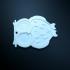 Owl Keychain print image