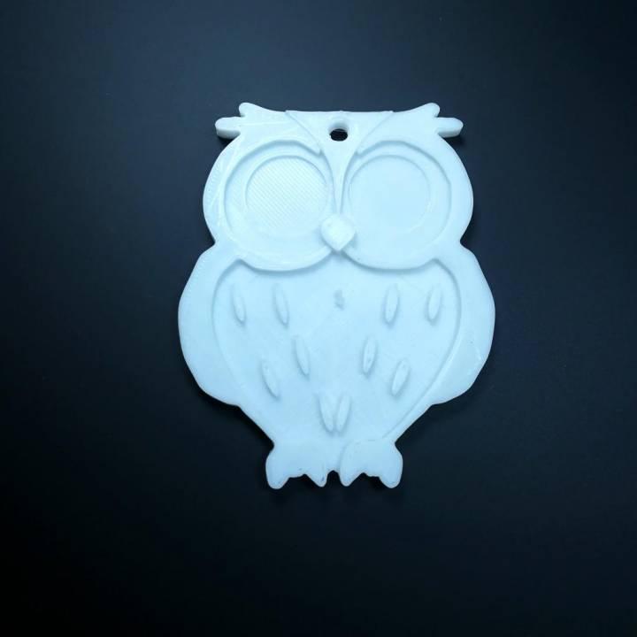 Owl Keychain