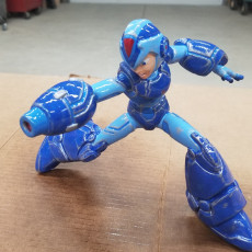 Picture of print of Megaman X Static Pose Этот принт был загружен Collin Tupper