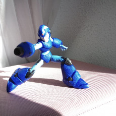 Picture of print of Megaman X Static Pose Этот принт был загружен Cristobal Rojas